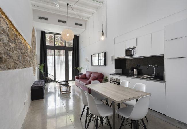 Ferielejlighed i Barcelona - EIXAMPLE LOFT - 3 open bedrooms