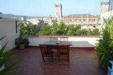 Ferienwohnung in Barcelona ciudad - GOTHIC - Shared terrace apartment