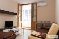 Ferienwohnung in Barcelona - POBLE NOU MARINA, 2 double bedrooms