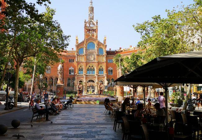 Ferienwohnung in Barcelona - SANT PAU