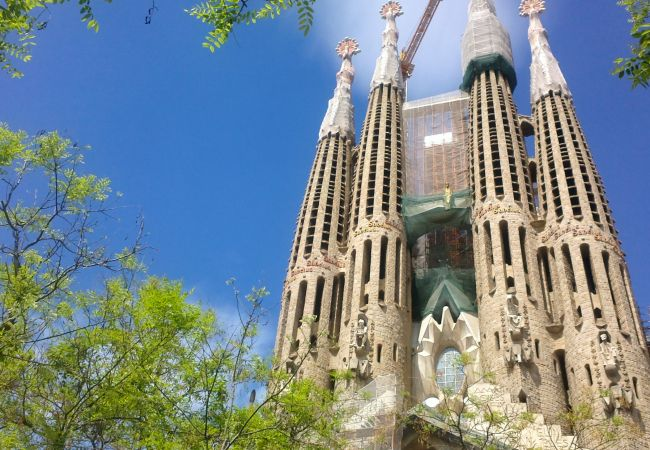 Ferienwohnung in Barcelona - PLAZA ESPAÑA DELUXE, light, views.
