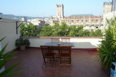 Ferienwohnung in Barcelona - GOTHIC - Shared terrace apartment