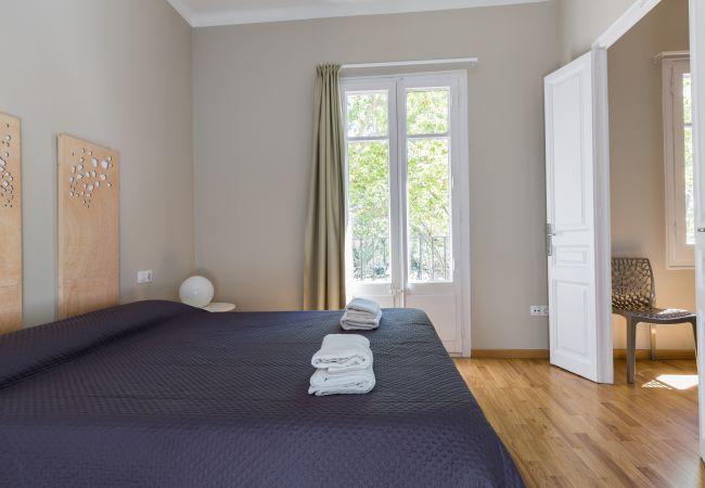 Ferienwohnung in Barcelona - CIUTADELLA PARK, 4 bedrooms, top views