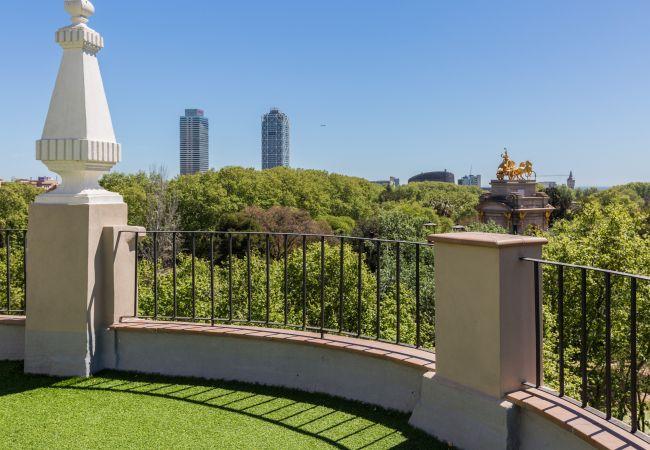 Ferienwohnung in Barcelona - CIUTADELLA PARK, 4 double bedrooms, top views