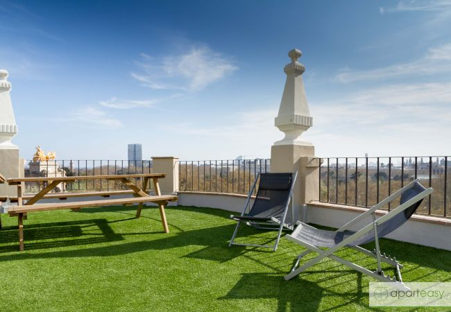 Ferienwohnung in Barcelona - CIUTADELLA PARK, 4 double bedrooms, park views