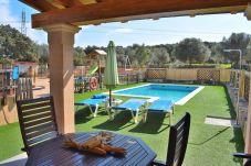 Finca in Llubi - Son Sitges Villa con barbacoa piscina y un  gran jardín 139