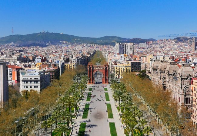 Appartement in Barcelona - CIUTADELLA PARK, 4 double bedrooms, park views