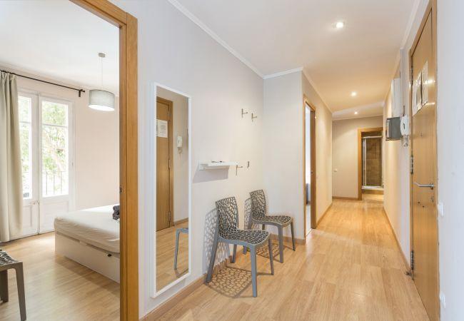 Apartamento en Barcelona - Family CIUTADELLA PARK, gran piso turístico 4 dormitorios en Barcelona centro