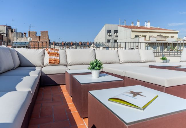 Appartement à Barcelone - DELUXE SUITE, central, boho chic, balcony