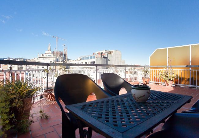 Appartement à Barcelone - ATIC SAGRADA FAMILIA, great terrace, views