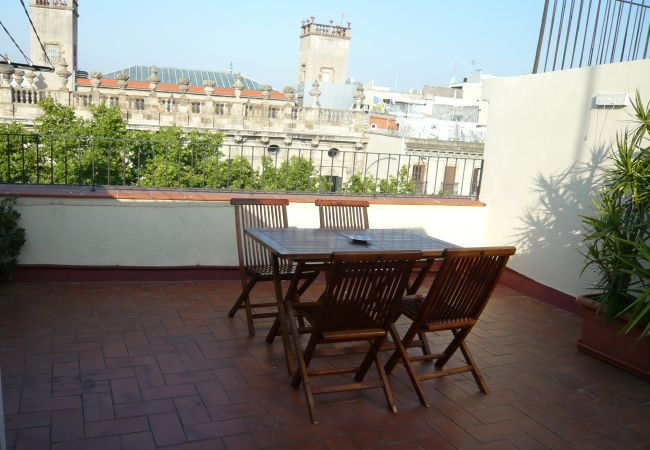 Appartement à Barcelone - GOTHIC - Balcony & shared terrace apartment