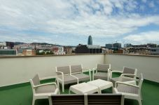 Appartement à Barcelona - POBLE NOU MARINA, 3 double bedrooms with balcony