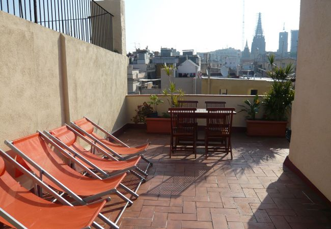 Apartment in Barcelona - GOTHIC - Shared terrace apartment