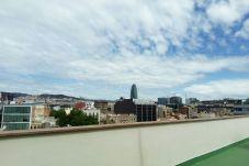 Apartment in Barcelona ciudad - POBLE NOU MARINA, balcony, top floor, 3 bedrooms
