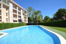Apartamento em Salou - Pinamar:2Terrazas,70m2 solárium-Piscina-Cerca playa,centro,A/C,parking,satélite incluido