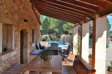 Fazenda em Llubi - Son Rossignol Villa mallorquina con piscina en una zona tranquila 062