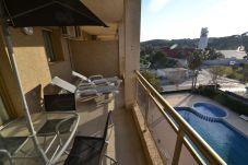 Apartment in La Pineda - Turquesa 4:300m beach-La Pineda's centre-Pool-FREE Satellite Wifi & Linen-Air cond. available