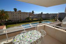 Apartment in La Pineda - Aguamarina 3:300m La Pineda's beach&centre-Pool-Free Wifi+linen