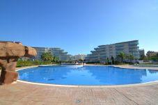 Apartment in La Pineda - Los Juncos A:300m Beach-20000m2 garden/Pools,playground-FREE Wifi+Linen-La Pineda