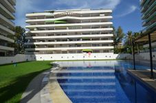 Apartment in Salou - Riviera Park:Terrace pool view-Near Salou Beaches,PortAventura and Center-A/C included