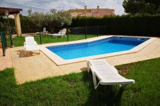 Villa in Ametlla de Mar - Villa Ametlla 32:Secure Private Pool-Big Garden with BBQ-Near Beach Las 3 Calas-Wifi incl.