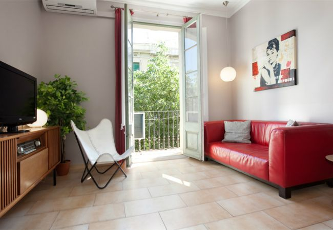 Accommodation BORRELL, 4 bedrooms, 2 bathrooms, balcony, Eixample, Barcelona