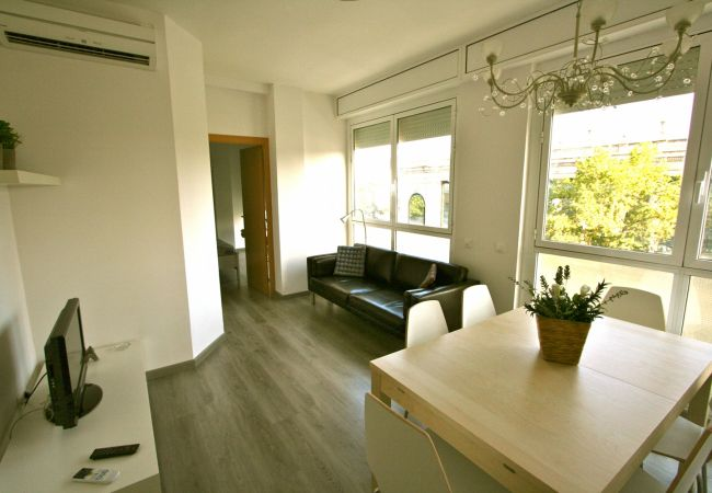 Apartment in Barcelona - PLAZA ESPAÑA DELUXE, light, views.