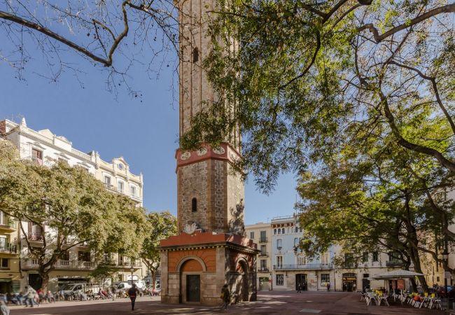 Apartment in Barcelona - GRACIA boho chic, balcony, views