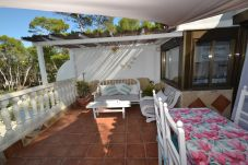 Apartment in Salou - Paraiso Salou:Terrace sea views,bbq-30meters coves-Free wifi,linen