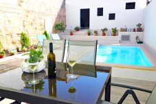 The Townhouse has a terrace with pool