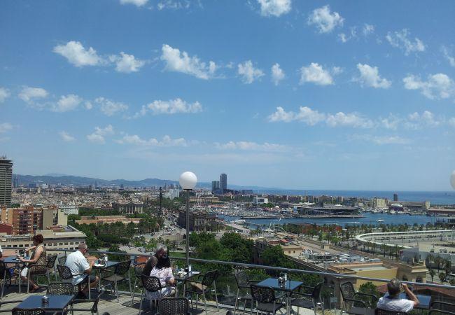 Apartment in Barcelona - CIUTADELLA PARK, 4 double bedrooms, top views