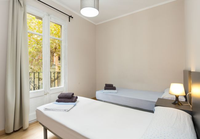 Apartment in Barcelona - CIUTADELLA PARK, 4 double bedrooms, park views