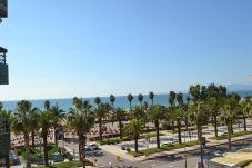 Apartment in Salou - Formentor:Terrace sea views-80meters beach-Free A/C,wifi,linen,parking