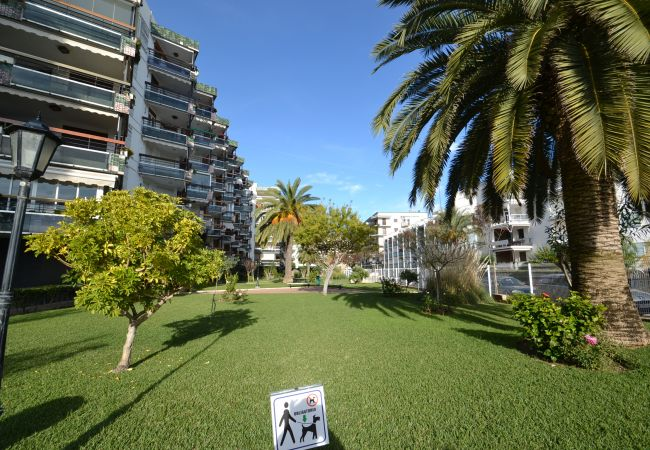 in Salou - Formentor 3:Studio with terrace-50meters Salou's beach&center-Free A/C