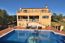 Country house in Cas Concos - Very comfortable Villa with swimming pool and beautiful views of the countryside