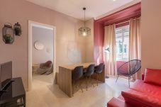 Гостиная в квартире площадь Испании центр Барселона