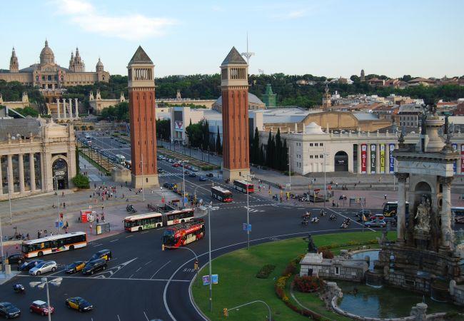 Апартаменты на Барселона / Barcelona - DELUXE, central, boho, views, 3 bedrooms