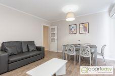 Апартаменты на Barcelona - POBLE NOU MARINA, comfy deluxe, 3 double bedrooms