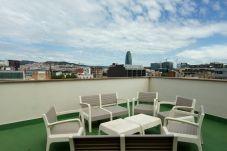 Апартаменты на Barcelona - POBLE NOU MARINA, 3 double bedrooms with balcony