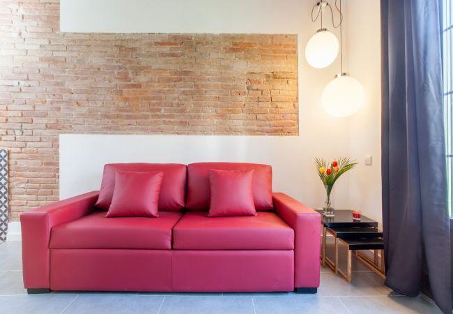 Апартаменты на Барселона / Barcelona - EIXAMPLE CENTER DELUXE 1 Bedroom