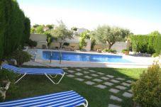 Villa i Ametlla de Mar - Villa Ametlla 7:Piscina privada-Jardín con barbacoa-Cerca playas Las 3 Calas-Wifi incluido