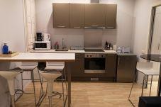 Lägenhet i Barcelona - Piso renovado con encanto en alquiler vacacional en Barcelona centro, Gracia